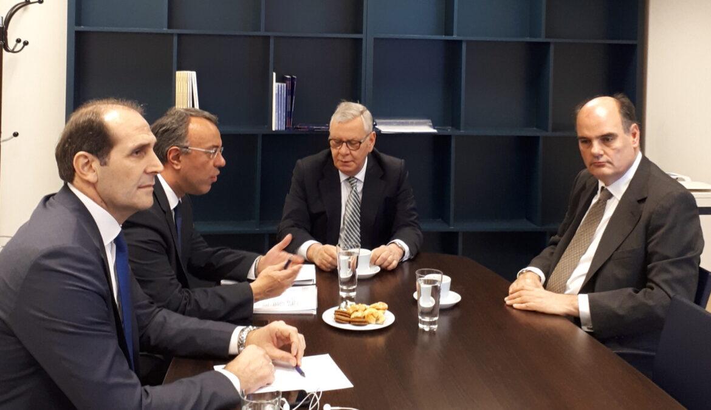Συνάντηση εργασίας με το ΕΔΣ στο πλαίσιο συναντήσεων με τις διοικήσεις φορέων της οικονομίας   9.3.2018