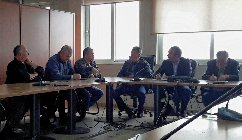 Σύσκεψη εργασίας στο Δήμο Αμφίκλειας – Ελάτειας | 27.3.2018