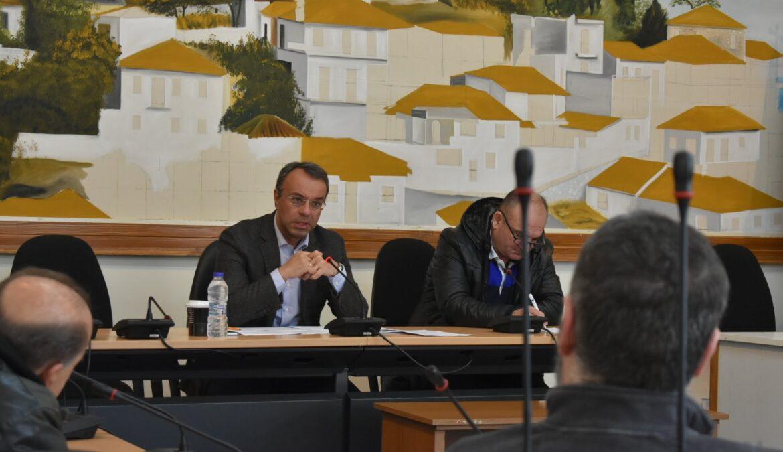 Σύσκεψη εργασίας στο Δήμο Δομοκού στο πλαίσιο επισκέψεων εργασίας στους Δήμους της ΠΕ Φθιώτιδας | 9.3.2018