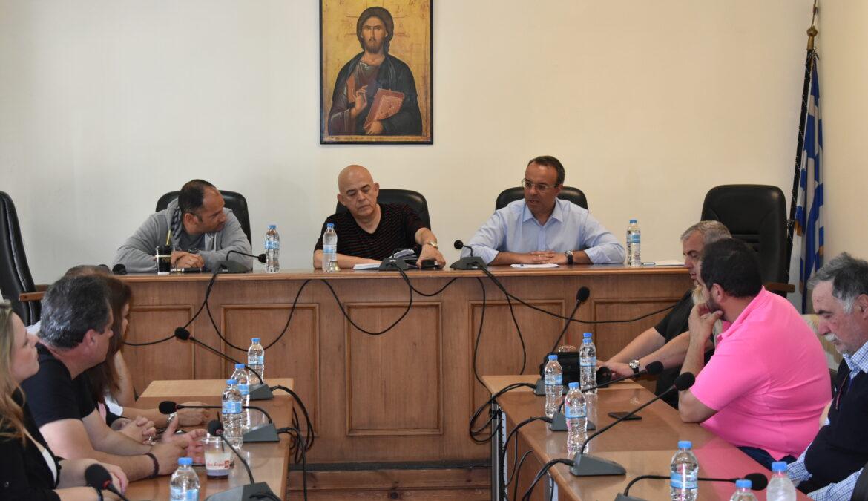 Σύσκεψη εργασίας στο Δήμο Μώλου-Αγίου Κωνσταντίνου | 11.5.2018