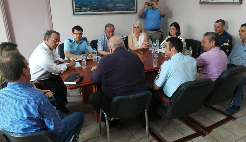 Σύσκεψη εργασίας στο Δήμο Λοκρών στο πλαίσιο επισκέψεων στους Δήμους της Φθιώτιδας | 18.5.2018