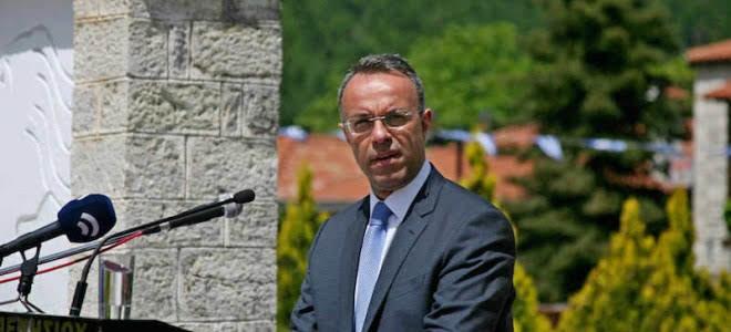 Χαιρετισμός Χρ. Σταϊκούρα στους Κορυσχάδες, εκπροσωπώντας τον Πρόεδρο της ΝΔ | 20.5.2018