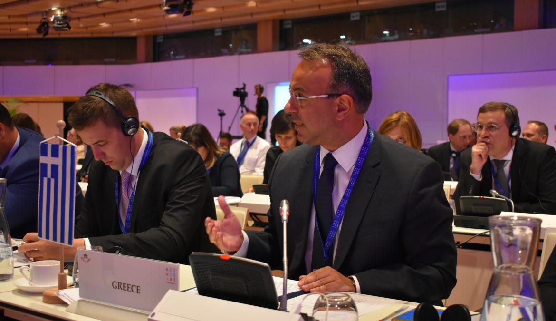 Παρέμβαση για την αντιμετώπιση της Φοροδιαφυγής στη Διακοινοβουλευτική Διάσκεψη στη Βιέννη (video) | 19.9.2018