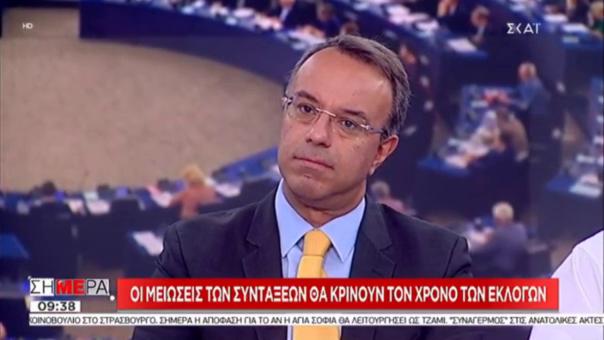 Ο Χρ. Σταϊκούρας στην τηλεόραση του ΣΚΑΪ | 13.9.2018