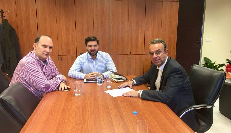 Mε τη Διοίκηση του Γενικού Νοσοκομείου Λαμίας συναντήθηκε ο Χρ. Σταϊκούρας | 23.11.2018