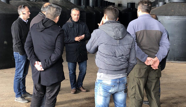 Επισκέψεις Χρ. Σταϊκούρα σε παραγωγικές μονάδες του Δήμου Λοκρών (φωτογραφίες) | 7.3.2018