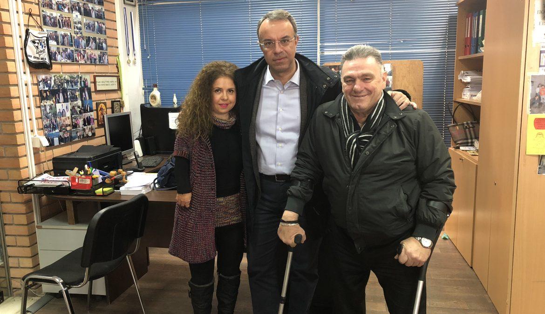 Συνάντηση Χρ. Σταϊκούρα με άτομα με αναπηρία και με το σύλλογο ατόμων με σκλήρυνση κατά πλάκας Φθιώτιδας | 8.12.2018