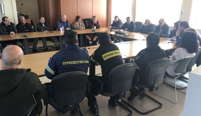 Συνάντηση Εργασίας στο Δήμο Αμφίκλειας – Ελάτειας | 18.2.2019