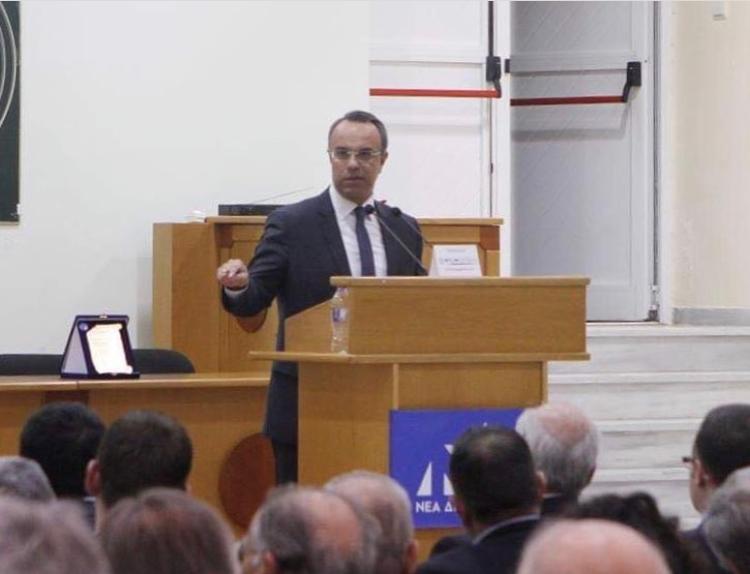 Χαιρετισμός Χρ. Σταϊκούρα στην ομιλία του Βαγγέλη Μεϊμαράκη στη Λαμία (video) | 4.4.2019