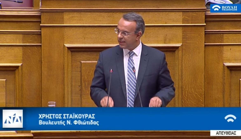 Ομιλία στην Ολομέλεια της Βουλής κατά τη συζήτηση για την ψήφο εμπιστοσύνης | 08.05.2019