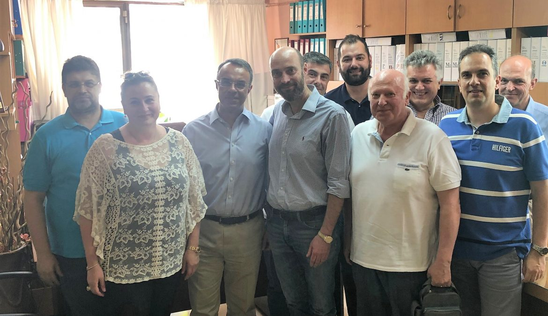 Επίσκεψη Χρ. Σταϊκούρα στον Ιατρικό, Οδοντιατρικό και Φαρμακευτικό Σύλλογο Φθιώτιδας | 10.6.2019