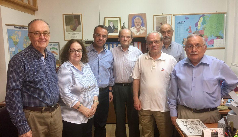 Συνάντηση Χρ. Σταϊκούρα με τον Σύνδεσμο Πολιτικών Συνταξιούχων Δημοσίου Φθιώτιδας | 5.6.2019