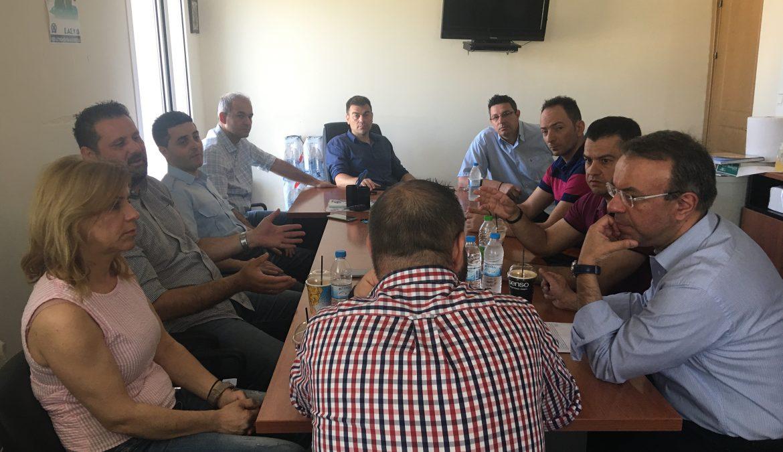 Επίσκεψη στις Ενώσεις Αστυνομικών Υπαλλήλων Φθιώτιδας και Αξιωματικών Στερεάς Ελλάδας | 8.6.2019
