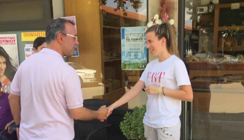 Σε Στυλίδα, Ελάτεια και Άγιο Κωνσταντίνο σήμερα ο Χρήστος Σταϊκούρας | 21.6.2019