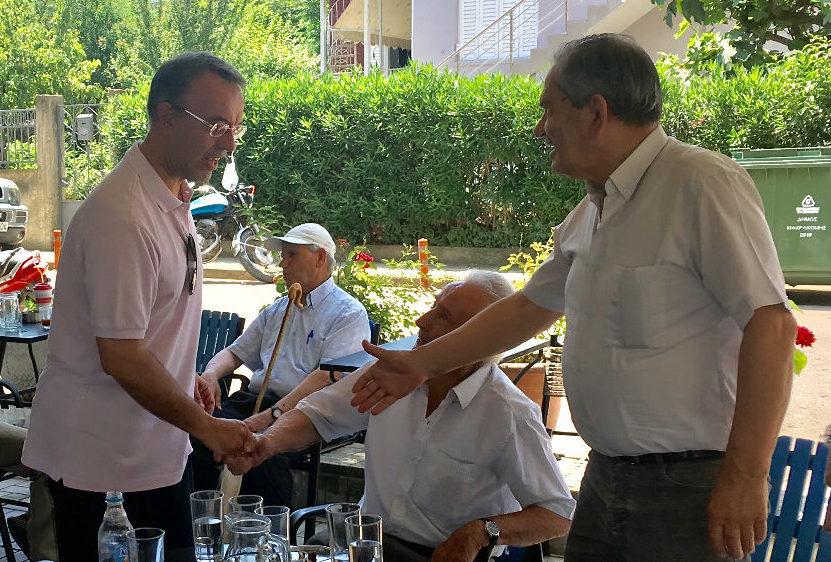 Ο Χρήστος Σταϊκούρας στη Σπερχειάδα (φωτογραφίες) | 15.6.2019