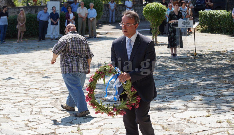 O Χρ. Σταϊκούρας στις Εκδηλώσεις Μνήμης για την 75η επέτειο του Ολοκαυτώματος της Υπάτης | 16.6.2019