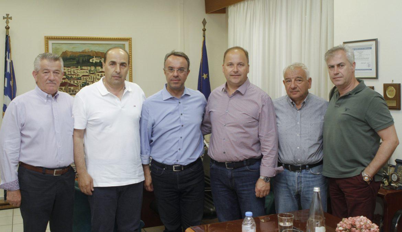 Συνάντηση Χρ. Σταϊκούρα με επιμελητηριακούς και εμπορικούς φορείς | 18.6.2019