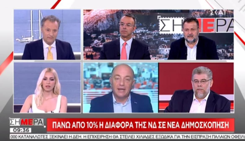 Ο Χρήστος Σταϊκούρας στην τηλεόραση του ΣΚΑΪ (video) | 24.6.2019