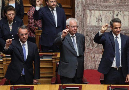 Η Ορκωμοσία της νέας Βουλής (φωτογραφίες – video) | 17.7.2019