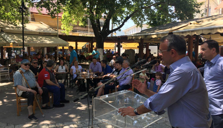Σε Μακρακώμη και Σπερχειάδα ο Χρήστος Σταϊκούρας (φωτογραφίες) | 4.7.2019