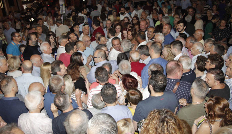 Πρώτος στη Φθιώτιδα ο Χρ. Σταϊκούρας! – Δηλώσεις (video) | 7.7.2019