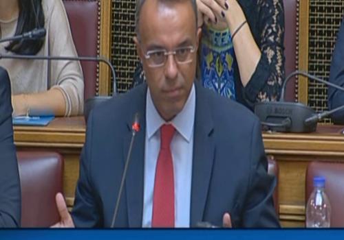Η Ομιλία του Υπουργού Οικονομικών στην Επιτροπή Οικονομικών Υποθέσεων (video) | 29.7.2019
