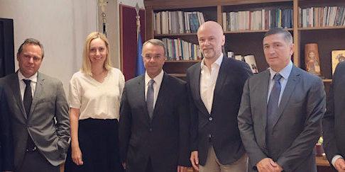 Συνάντηση του Υπουργού Οικονομικών με τον Πρόεδρο και μέλη του ΔΣ του ΣΕΤΕ | 28.8.2019