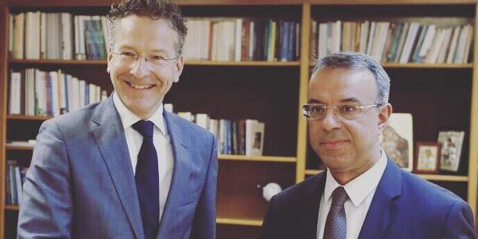 Συνάντηση Υπουργού Οικονομικών με τον πρ. Πρόεδρο του Eurogroup κ. Dijsselbloem | 2.8.2019
