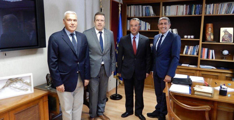 Συνάντηση του Υπουργού Οικονομικών με τον Πρόεδρο και μέλη του ΔΣ της ΕΣΕΕ | 27.8.2019