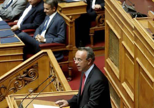 Παρέμβαση του Υπουργού Οικονομικών στη Βουλή για την πλήρη άρση των κεφαλαιακών περιορισμών (video) | 26.8.2019