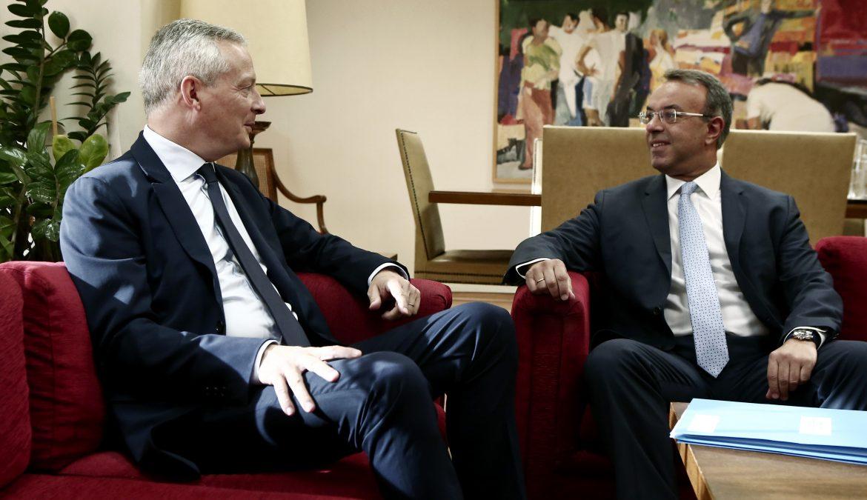 Συνάντηση Υπουργού Οικονομικών με τον Γάλλο ομόλογό του | 9.8.2019