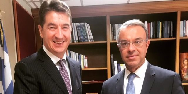 Συνάντηση με τον Πρέσβη της Σερβίας κ. Ντούσαν Σπάσογιεβιτς | 11.9.2019