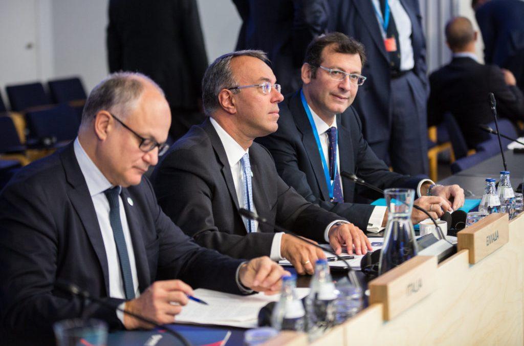 Ο Χρήστος Σταϊκούρας σε Eurogroup και Ecofin στο Ελσίνκι (φωτογραφίες) | 13-14.9.2019