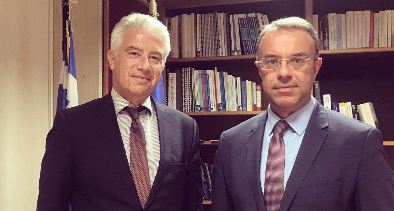 Συνάντηση Υπουργού Οικονομικών με τον Γερμανό Πρέσβη | 9.9.2019