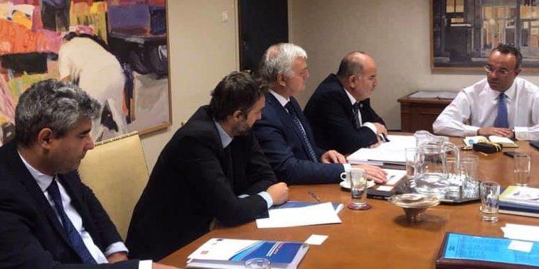 Συνάντηση Υπουργού Οικονομικών με τη Γενική Συνομοσπονδία Επαγγελματιών Βιοτεχνών Εμπόρων Ελλάδας | 2.9.2019