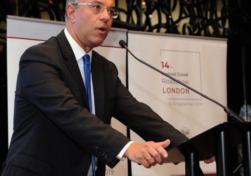 Σημεία Ομιλίας Υπουργού Οικονομικών στο 14ο Annual Roadshow στο Λονδίνο   19.9.2017