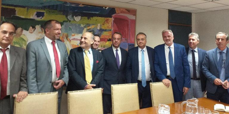 Συνάντηση της Συντονιστικής Επιτροπής της Ολομέλειας των Δικηγορικών Συλλόγων με τον Υπουργό Οικονομικών | 10.9.2019