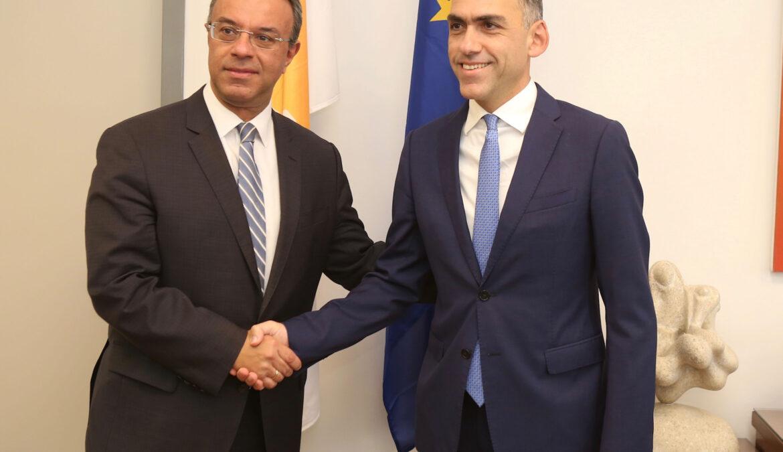 Τοποθέτηση του Υπουργού Οικονομικών μετά τη συνάντησή του με τον ΥπΟικ της Κύπρου (video) | 14.10.2019