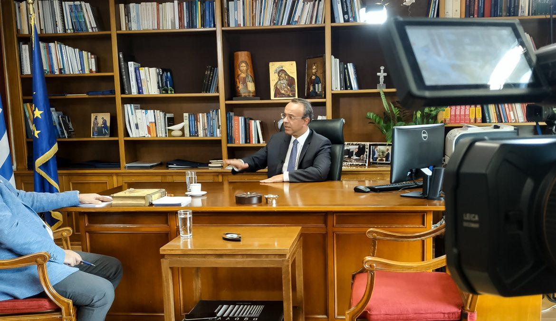 Συνέντευξη του Υπουργού Οικονομικών στο Star Κεντρικής Ελλάδας (video) | 7.10.2019