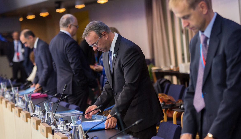 Στις Βρυξέλλες ενόψει Eurogroup ο Υπουργός Οικονομικών | 3.12.2019