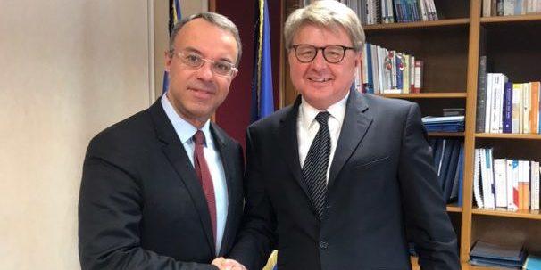 Συνάντηση Υπουργού Οικονομικών με τον Chief Executive Officer της Deutsche Börse AG κ. Theodor Weimer | 15.1.2020
