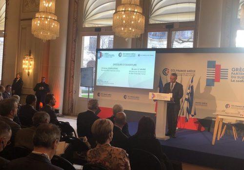 Εναρκτήρια Ομιλία του Υπουργού Οικονομικών στο Ελληνογαλλικό Φόρουμ στο Παρίσι | 29.1.2020