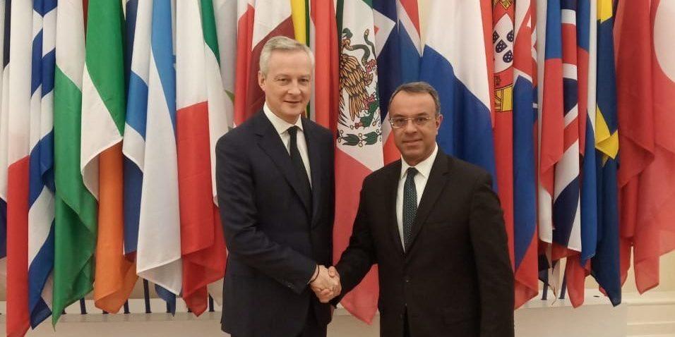Σε Παρίσι και Βίλνιους ο Υπουργός Οικονομικών | 26.11.2019