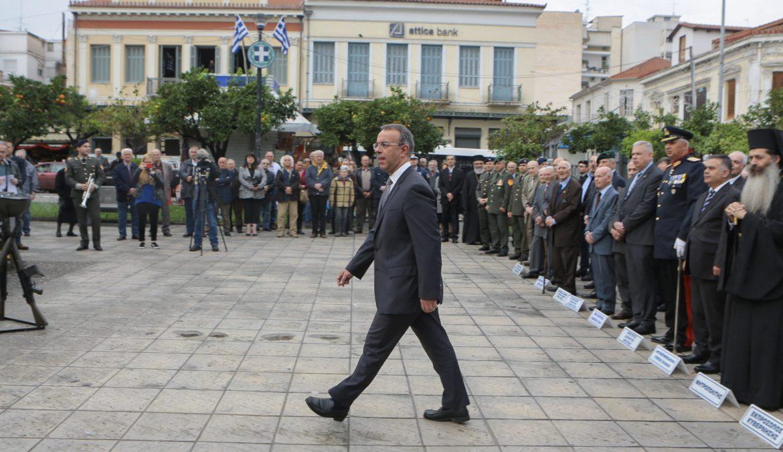 Ο Υπουργός Οικονομικών Εκπρόσωπος της Κυβέρνησης στην Ημέρα των Ενόπλων Δυνάμεων (φωτογραφίες, video) | 21.11.2019