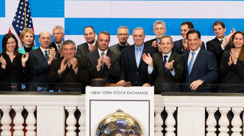 Στη Νέα Υόρκη ο Υπουργός Οικονομικών (Φωτογραφίες, video) | 8.12.2019