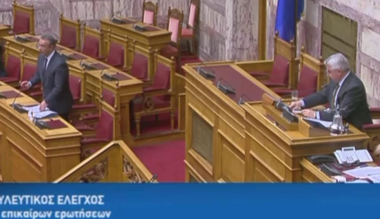 Απάντηση του Υπουργού Οικονομικών σε επίκαιρη ερώτηση του Βουλευτή κ. Βολουδάκη στη Βουλή (video) | 13.12.2019