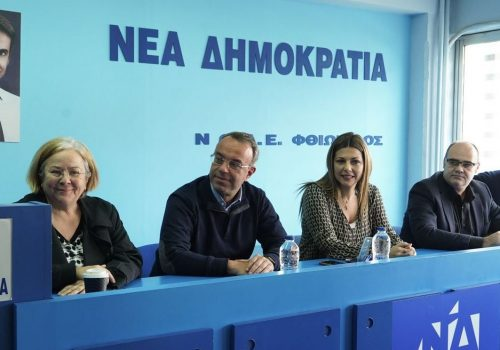 Στη ΝΟΔΕ Φθιώτιδας ο Χρήστος Σταϊκούρας (video)   23.11.2019