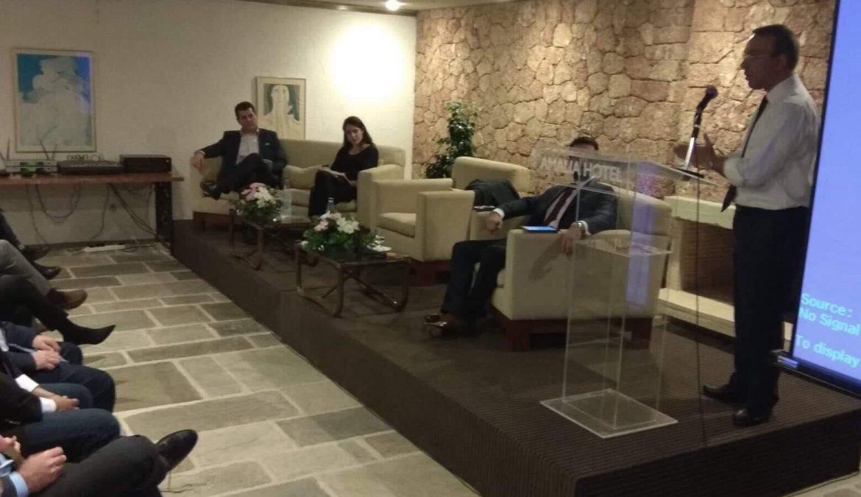 Ο Χρ. Σταϊκούρας Ομιλητής στην εκδήλωση της ΝΟΔΕ Φωκίδας   23.11.2018