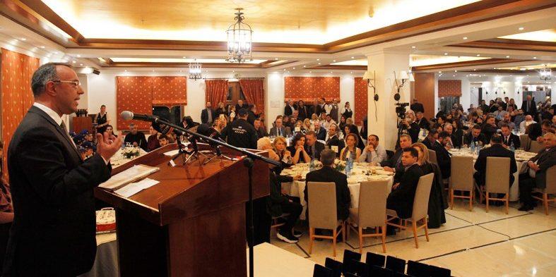 Ο Χρ. Σταϊκούρας Κεντρικός Ομιλητής στην κοπή πίτας του Επιμελητηρίου Φθιώτιδας (φωτογραφίες, video) | 1.2.2020