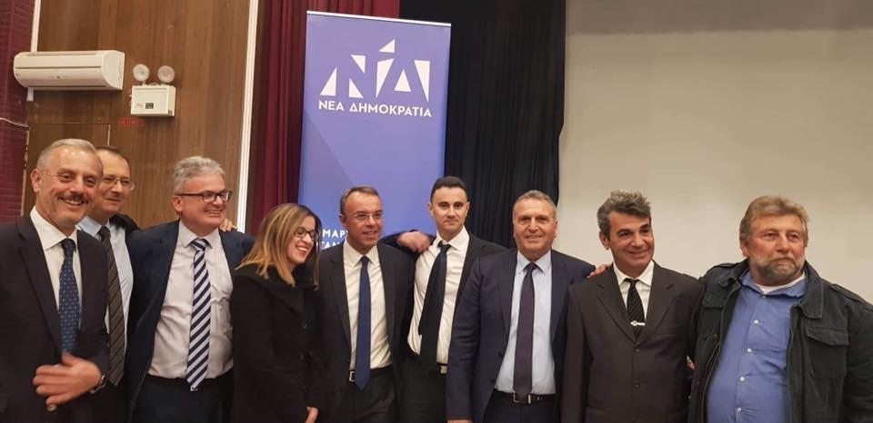 Ο Χρήστος Σταϊκούρας στην Άρτα (φωτογραφίες, video) | 30.11.2018